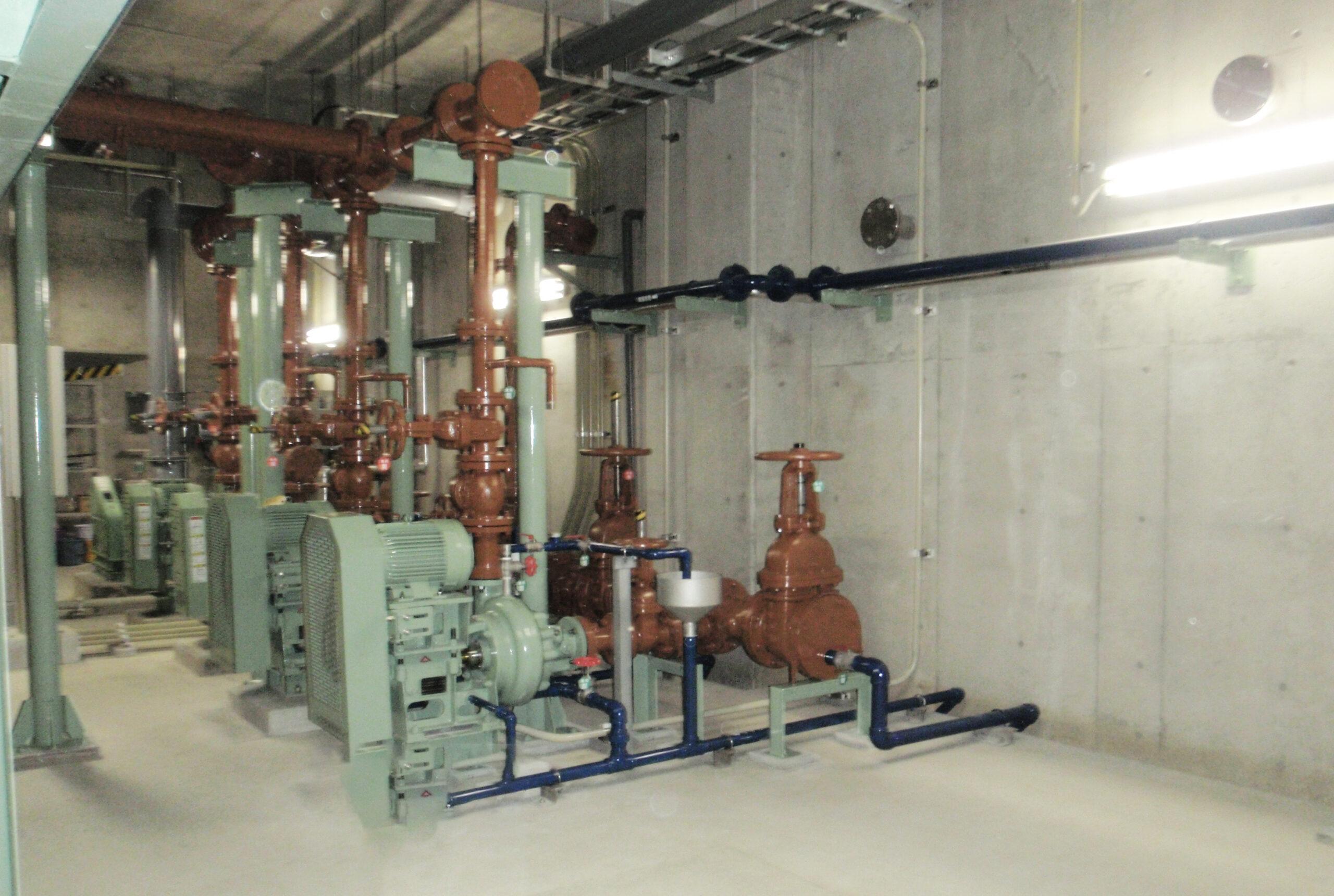 水質管理センター電気設備工事