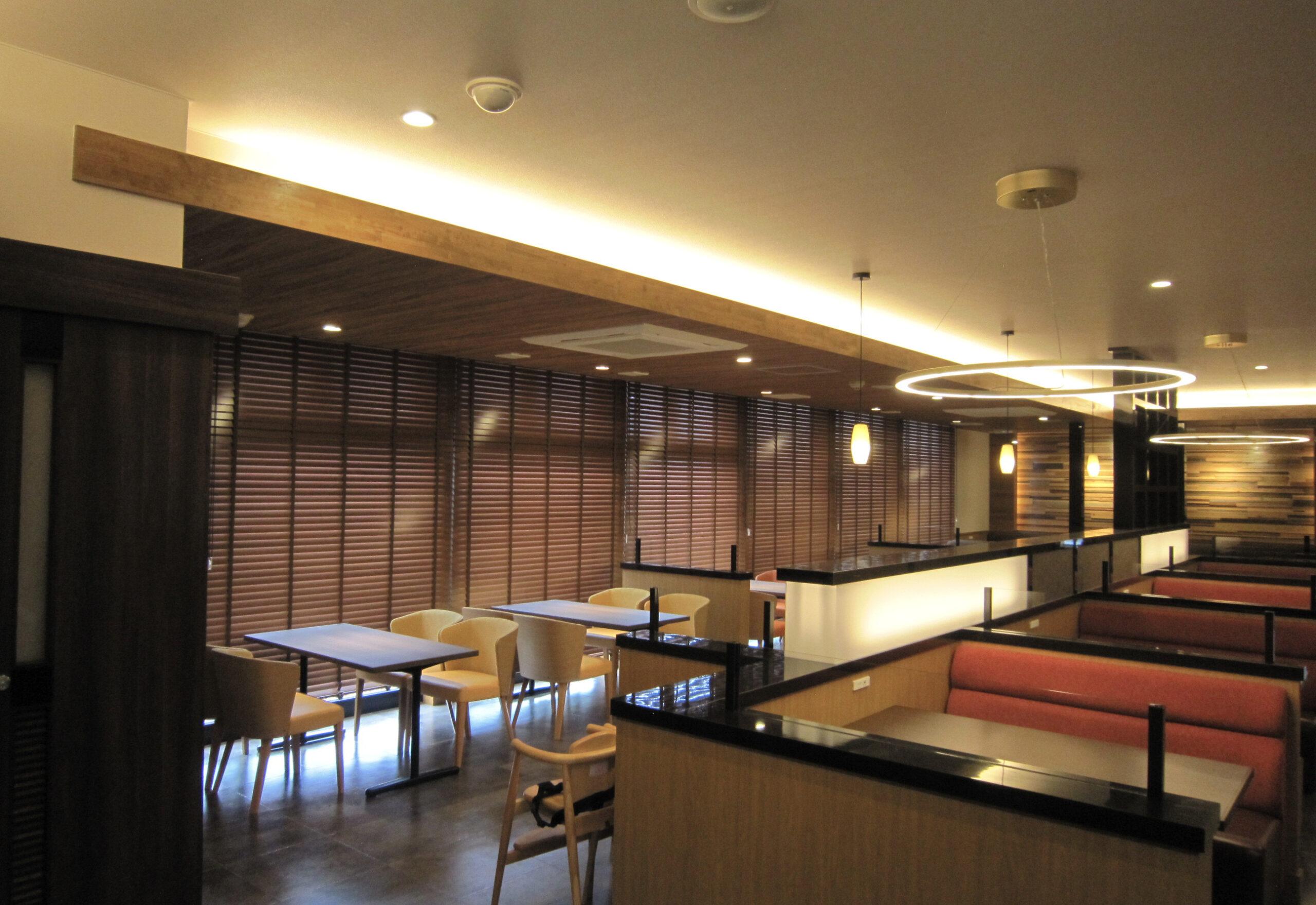 レストラン新築電気設備工事